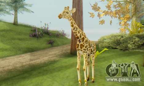 Giraffe (Mammal) for GTA San Andreas second screenshot