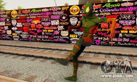 Skin The Amazing Spider Man 2 - DLC Anti-Electro for GTA San Andreas forth screenshot