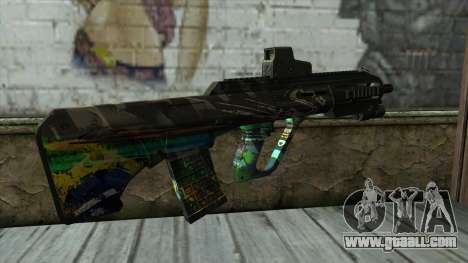 AUG A3 from PointBlank v3 for GTA San Andreas second screenshot