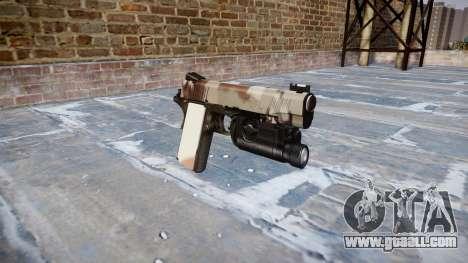 Gun Kimber 1911 Choco for GTA 4