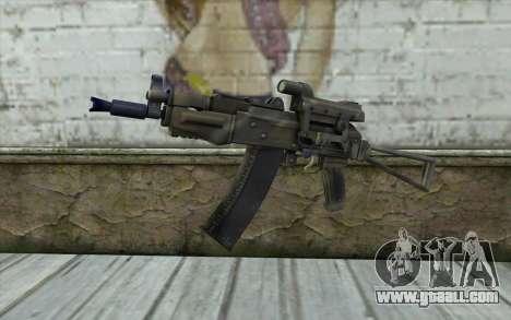 AK74U from Battlefield 2 for GTA San Andreas