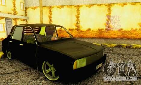 Dacia 1310 TLX PRN for GTA San Andreas back left view