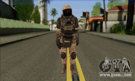 Task Force 141 (CoD: MW 2) Skin 15 for GTA San Andreas
