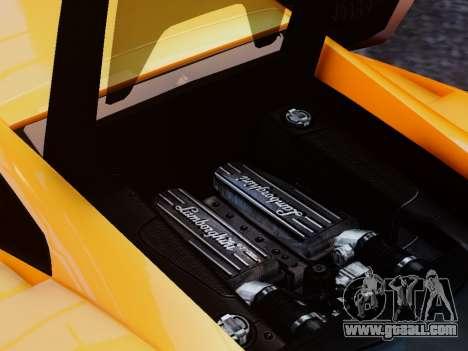 Lamborghini Gallardo LP560-4 for GTA 4 inner view