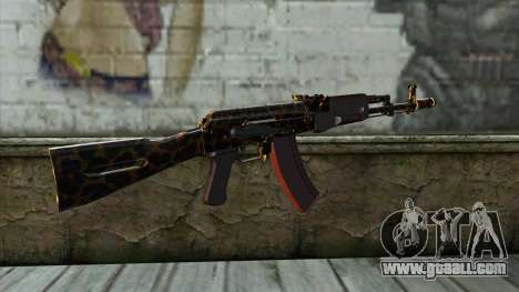 Graffiti AK47 for GTA San Andreas second screenshot