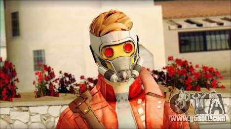 Guardians of the Galaxy Star Lord v2 for GTA San Andreas third screenshot