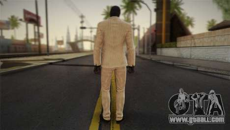 Black Mask for GTA San Andreas second screenshot