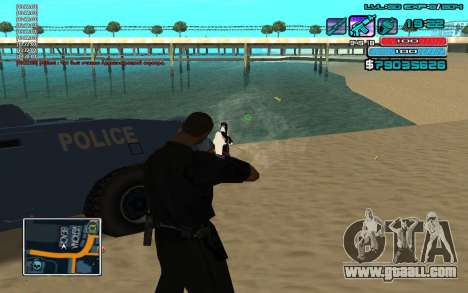 C-HUD by WH edited Mr_Zlo for GTA San Andreas third screenshot