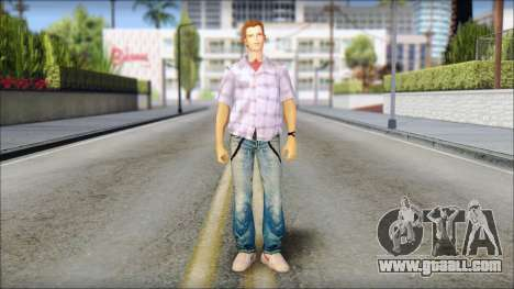 Marty from Back to the Future 1985 for GTA San Andreas