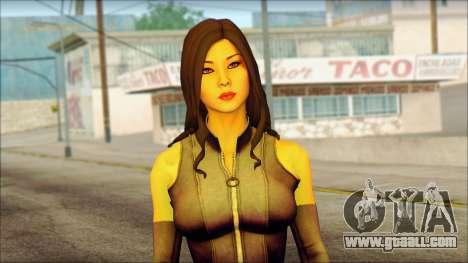 Psylocke Deadpool The Game Cable for GTA San Andreas third screenshot