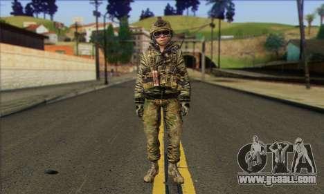 Task Force 141 (CoD: MW 2) Skin 11 for GTA San Andreas