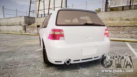 Volkswagen Golf Mk4 R32 Wheel2 for GTA 4 back left view