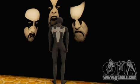 Skin The Amazing Spider Man 2 - Molecula Estable for GTA San Andreas third screenshot