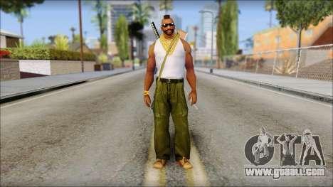 MR T Skin v10 for GTA San Andreas