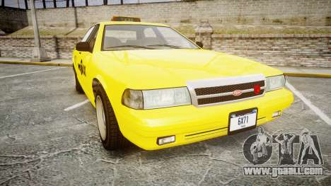 GTA V Vapid Taxi NYC for GTA 4