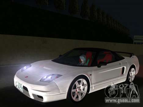 Honda NSX-R for GTA Vice City back left view