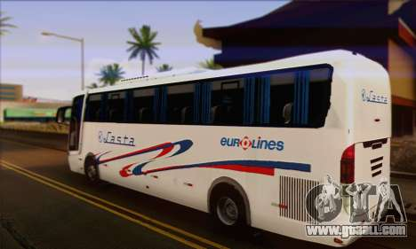 Volvo Lasta Bus for GTA San Andreas left view