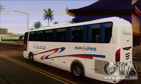 Volvo Lasta Bus for GTA San Andreas left view