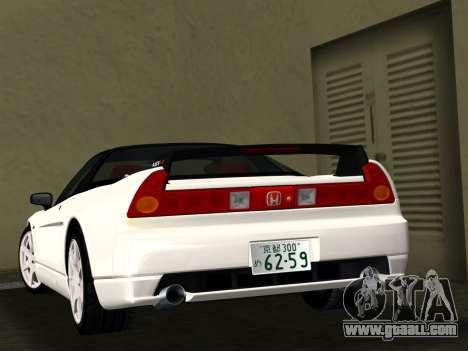 Honda NSX-R for GTA Vice City side view