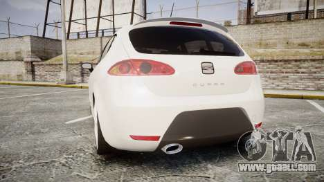 Seat Leon Guido Belsito for GTA 4 back left view