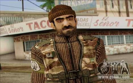 Soldiers MEK (Battlefield 2) Skin 2 for GTA San Andreas third screenshot