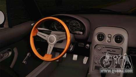 Mazda Miata for GTA San Andreas back left view
