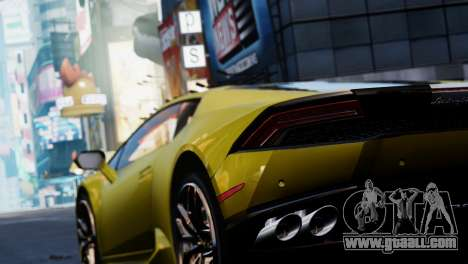 Lamborghini Huracan LP610-2 Valentino Balboni for GTA 4 inner view