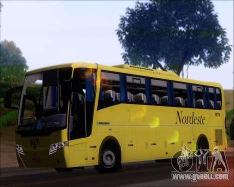 Busscar Elegance 360 Viacao Nordeste 8070 for GTA San Andreas inner view