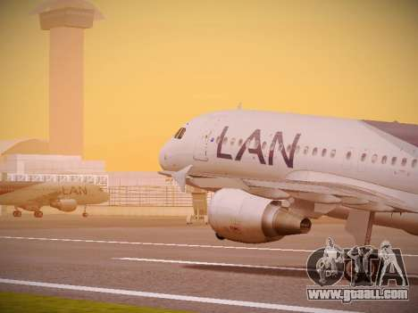 Airbus A320-214 LAN Airlines for GTA San Andreas