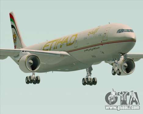 Airbus A330-300 Etihad Airways for GTA San Andreas