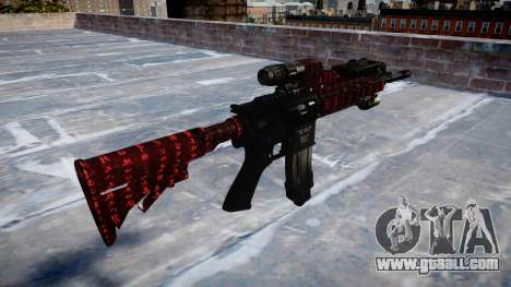 Automatic rifle Colt M4A1 art of war for GTA 4 second screenshot