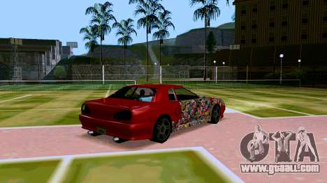 Elegy OnDrift for GTA San Andreas right view