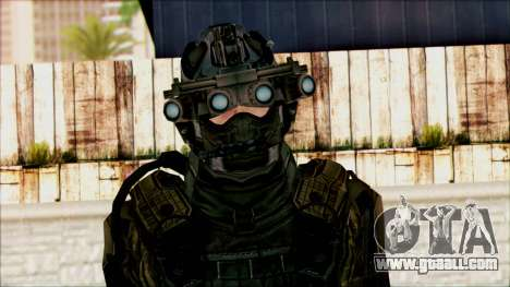 Soldiers of team Phantom 1 for GTA San Andreas third screenshot