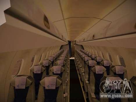 Embraer E190 Azul Brazilian Airlines for GTA San Andreas bottom view