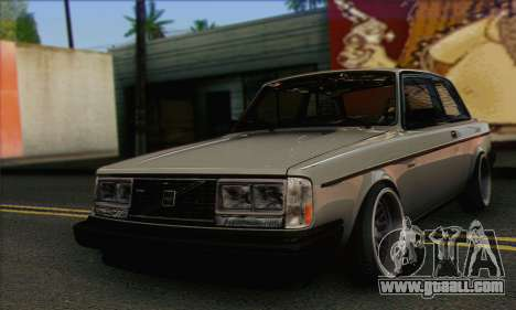 Volvo 242 Stance Works for GTA San Andreas