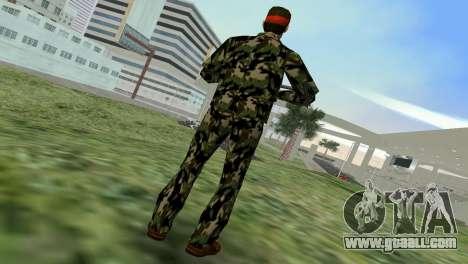 Camo Skin 01 for GTA Vice City third screenshot