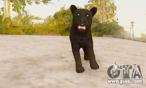 Black Panther (Mammal) for GTA San Andreas third screenshot