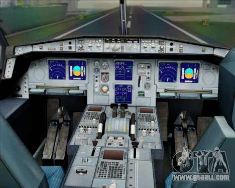 Airbus A330-300 Etihad Airways for GTA San Andreas interior