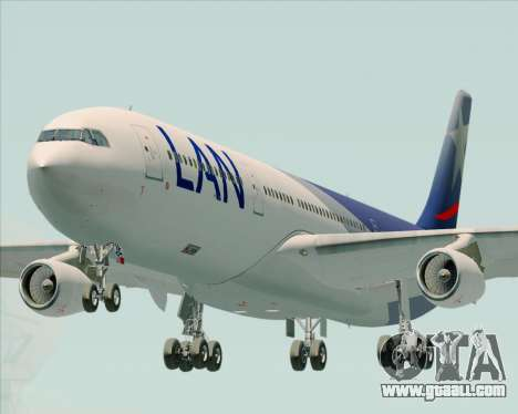 Airbus A340-313 LAN Airlines for GTA San Andreas