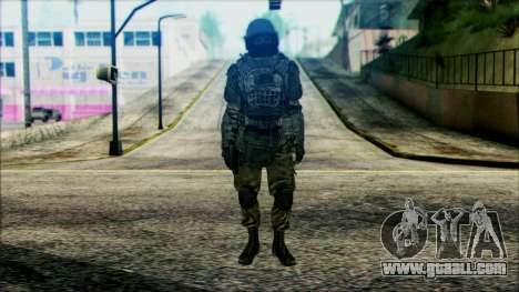 Soldiers airborne (CoD: MW2) v3 for GTA San Andreas
