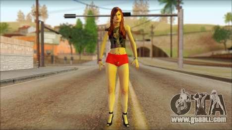 Talia for GTA San Andreas