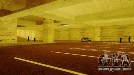 New textures Parking in the LSPD for GTA San Andreas fifth screenshot