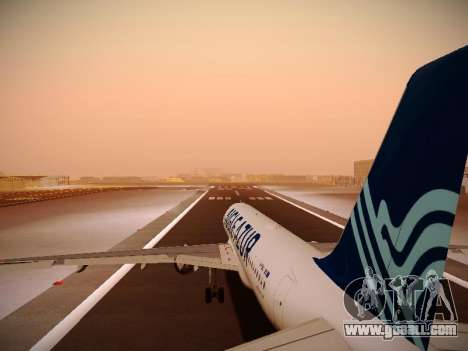 Airbus A320-211 Aigle Azur for GTA San Andreas engine
