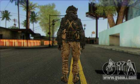 Task Force 141 (CoD: MW 2) Skin 16 for GTA San Andreas second screenshot