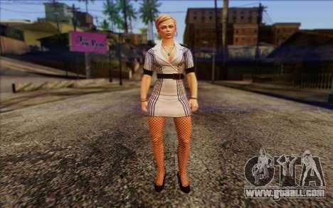 Tracy from Batman Arkham Origins for GTA San Andreas