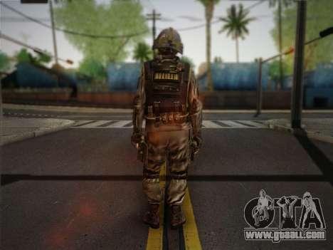 Боец СВР (Tom Clancy Splinter Cell) v1 for GTA San Andreas second screenshot