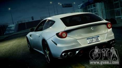 Ferrari FF 2011 v1.5 for GTA 4 inner view