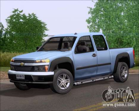 Chevrolet Colorado for GTA San Andreas