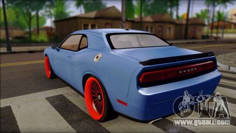 Dodge Challenger SRT8 Stance for GTA San Andreas left view