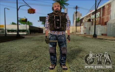 Tanny from ArmA II: PMC for GTA San Andreas